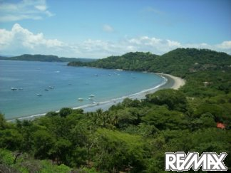 View of Playa Hermosa Bay from property