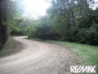Road to Lomas Del Mar Lot 253 in Costa Rica