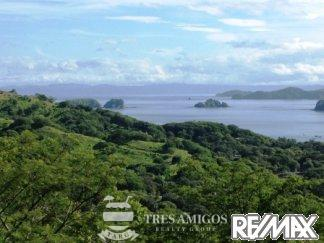 View of the Ocean from lot in Coco Bay Estates Costa Rica