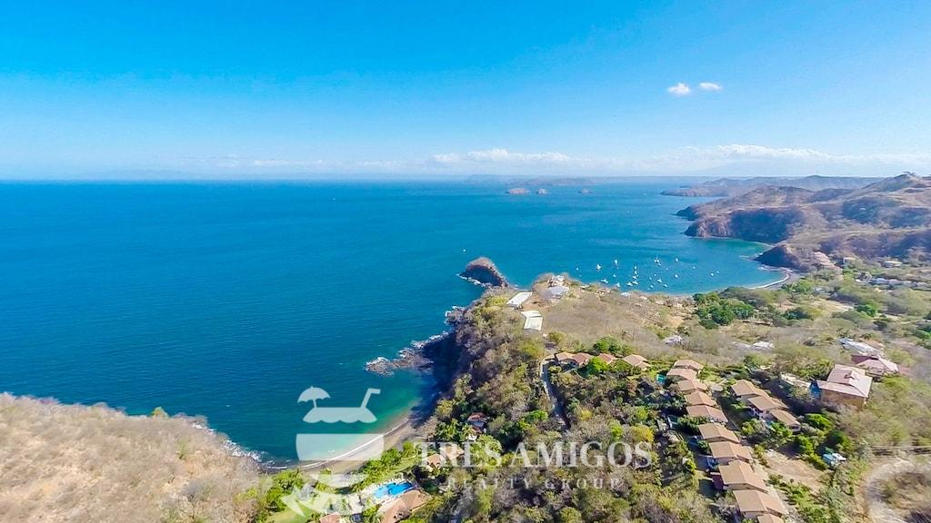 Extensive ocean views from luxury home Aguila del Mar in Costa Rica