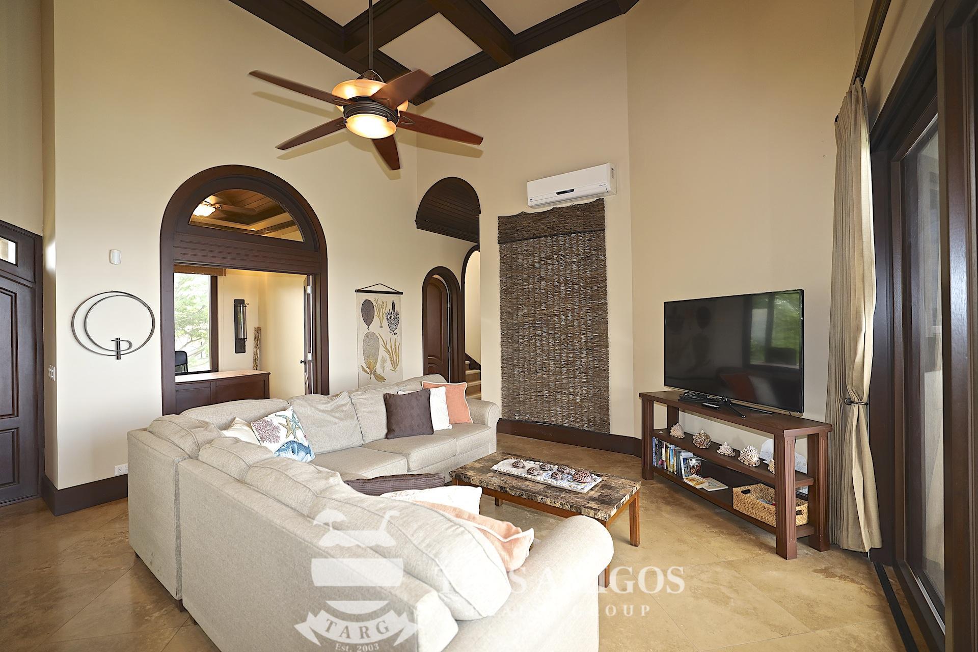 Master suite at Villa La Cima in Pacifico in Costa Rica